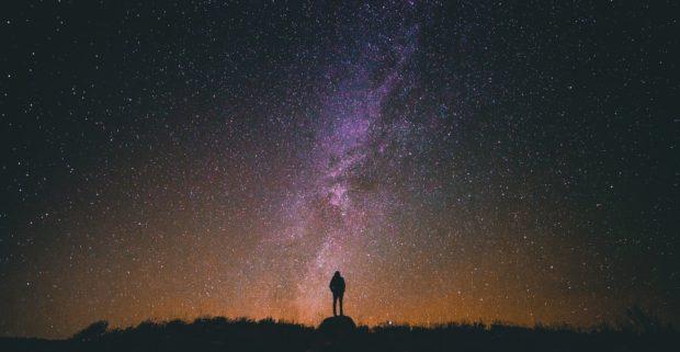 negative-space-silhouette-night-stars-universe-snapwire