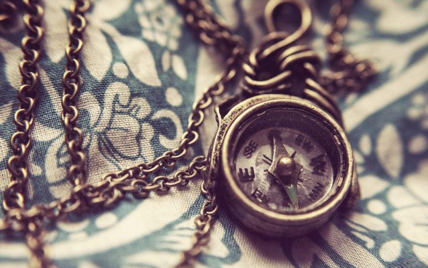modern mystery school vintage compass